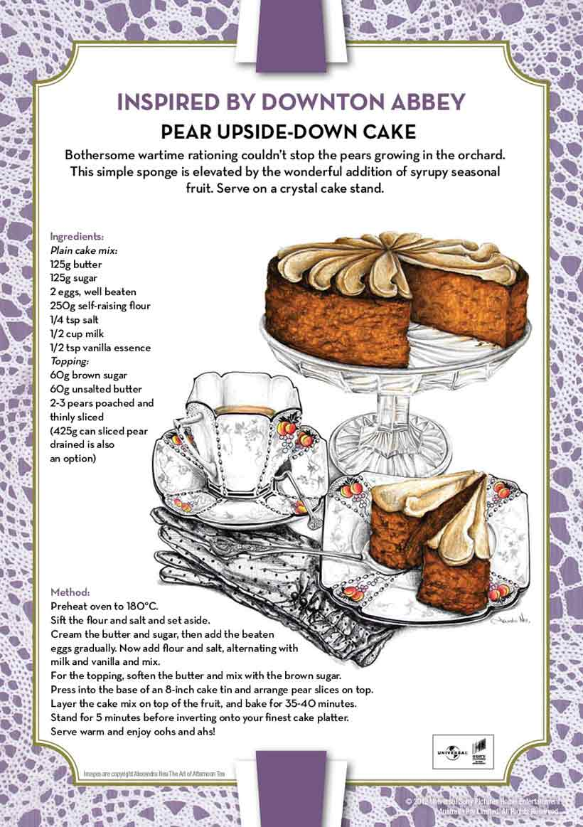 Downton Abbey Style Food Recipes