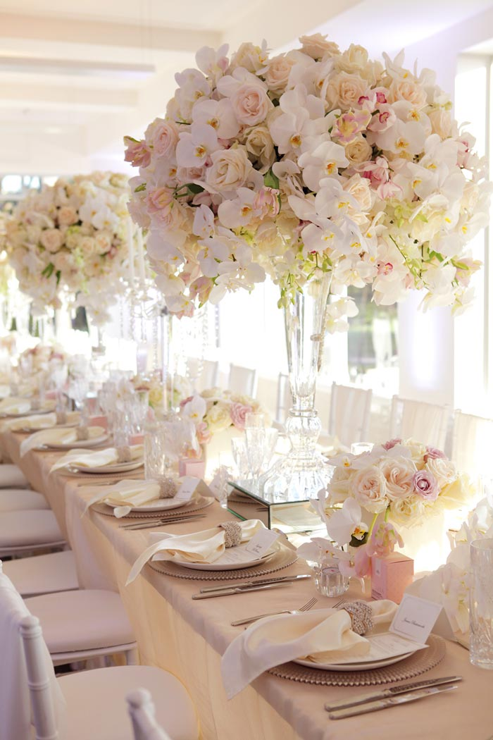 Karen tran styled event at watsons bay boutique hotel for Floral wedding decorations ideas