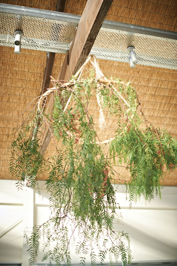 Suspended Floral Feature