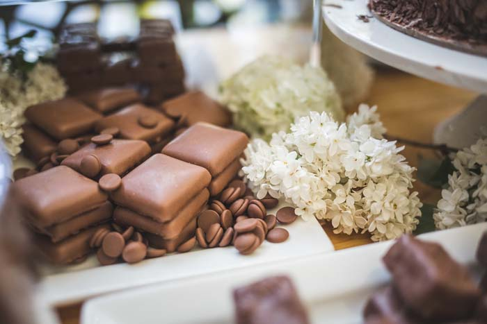 Wedding Chocolate Station by The Style Co.