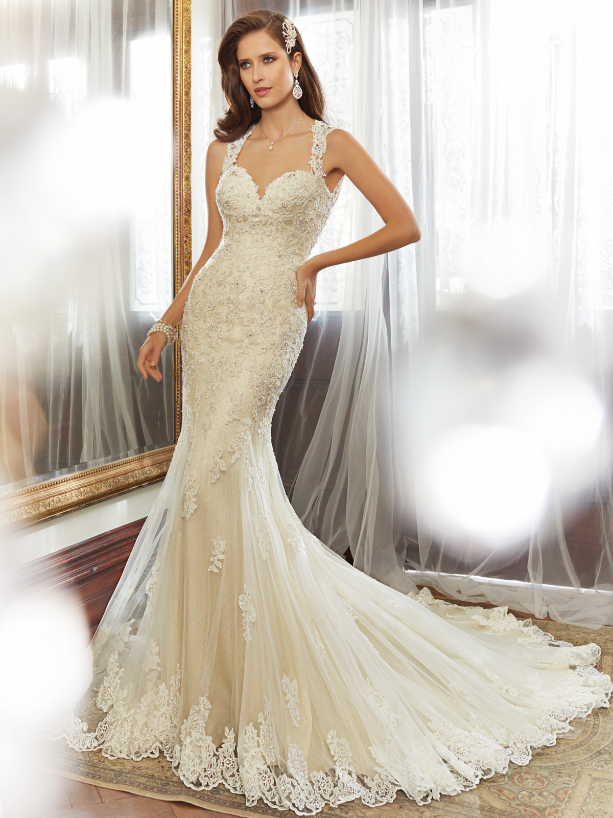 Sophia Tolli Spring 2015 Collection Y11554