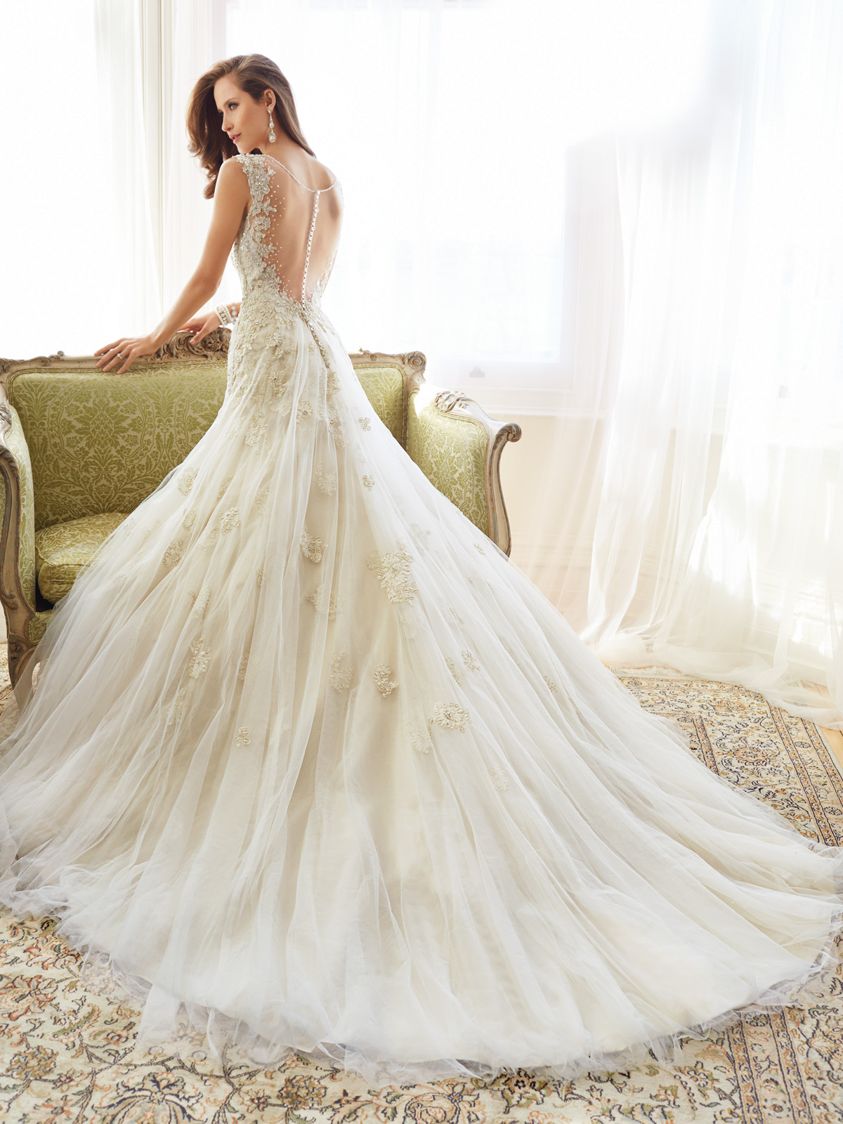 Sophia Tolli Spring 2015 Collection Y11555