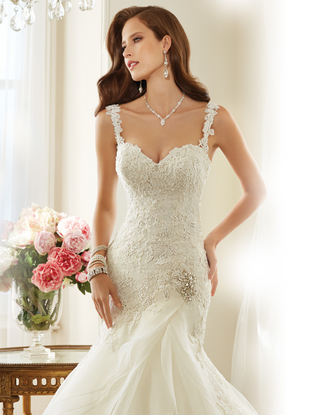 Sophia Tolli Spring 2015 Collection Y11563