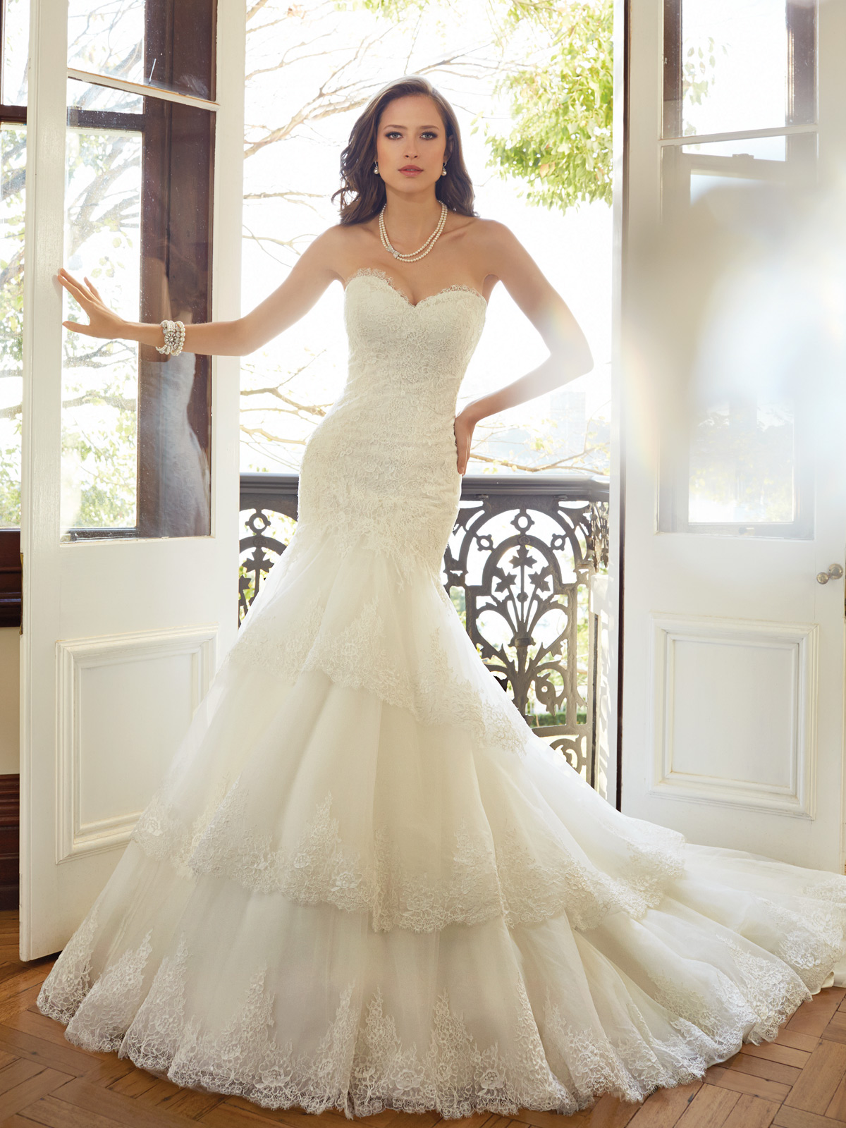 Sophia Tolli Spring 2015 Collection Y11567