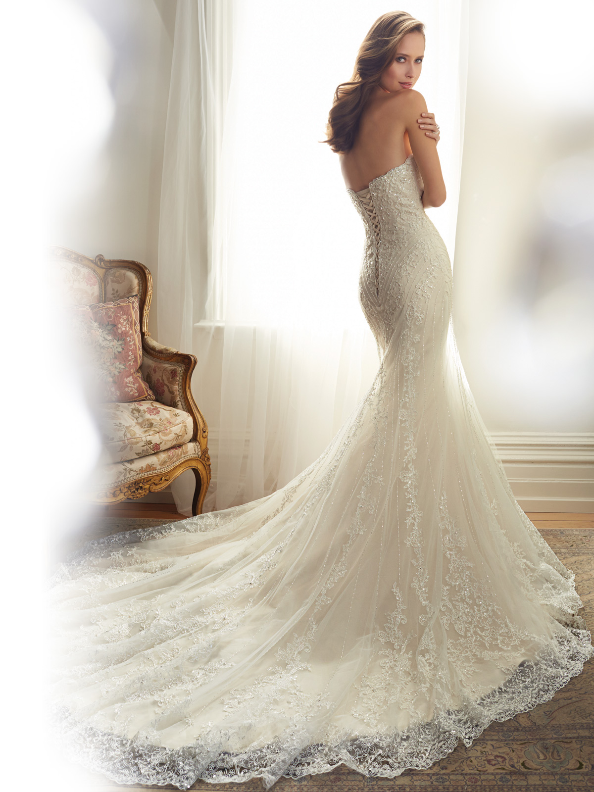 Sophia Tolli Spring 2015 Collection Y11574