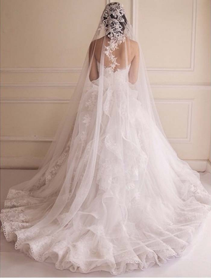 maison yeya, bride, veil, wedding dress, tulle