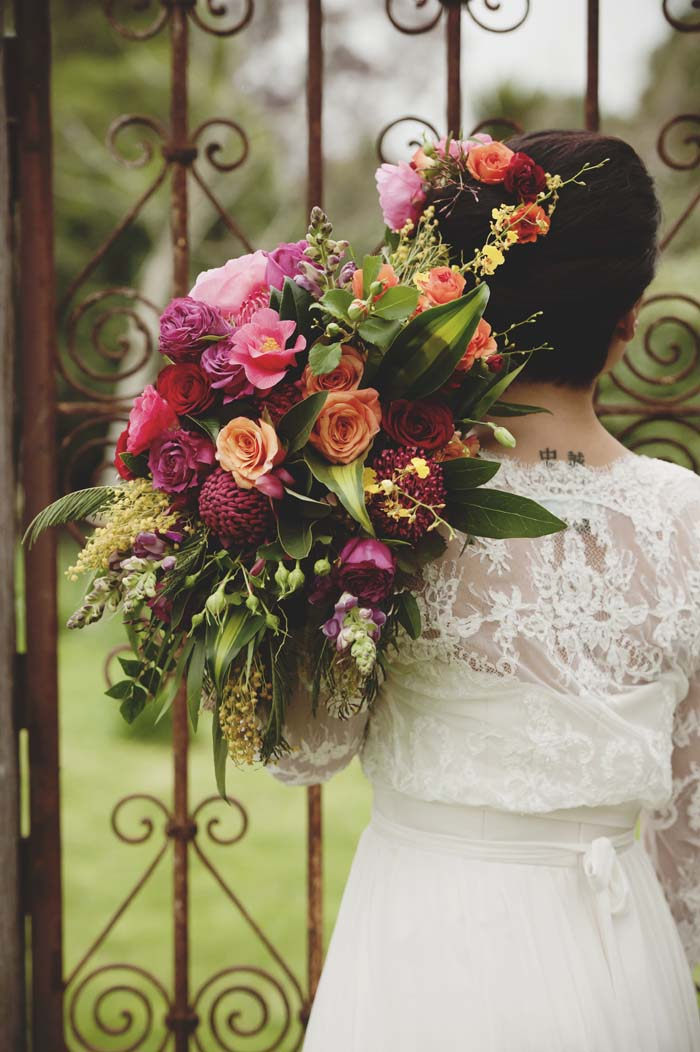 Bright Coloured Wedding Flower Inspiration